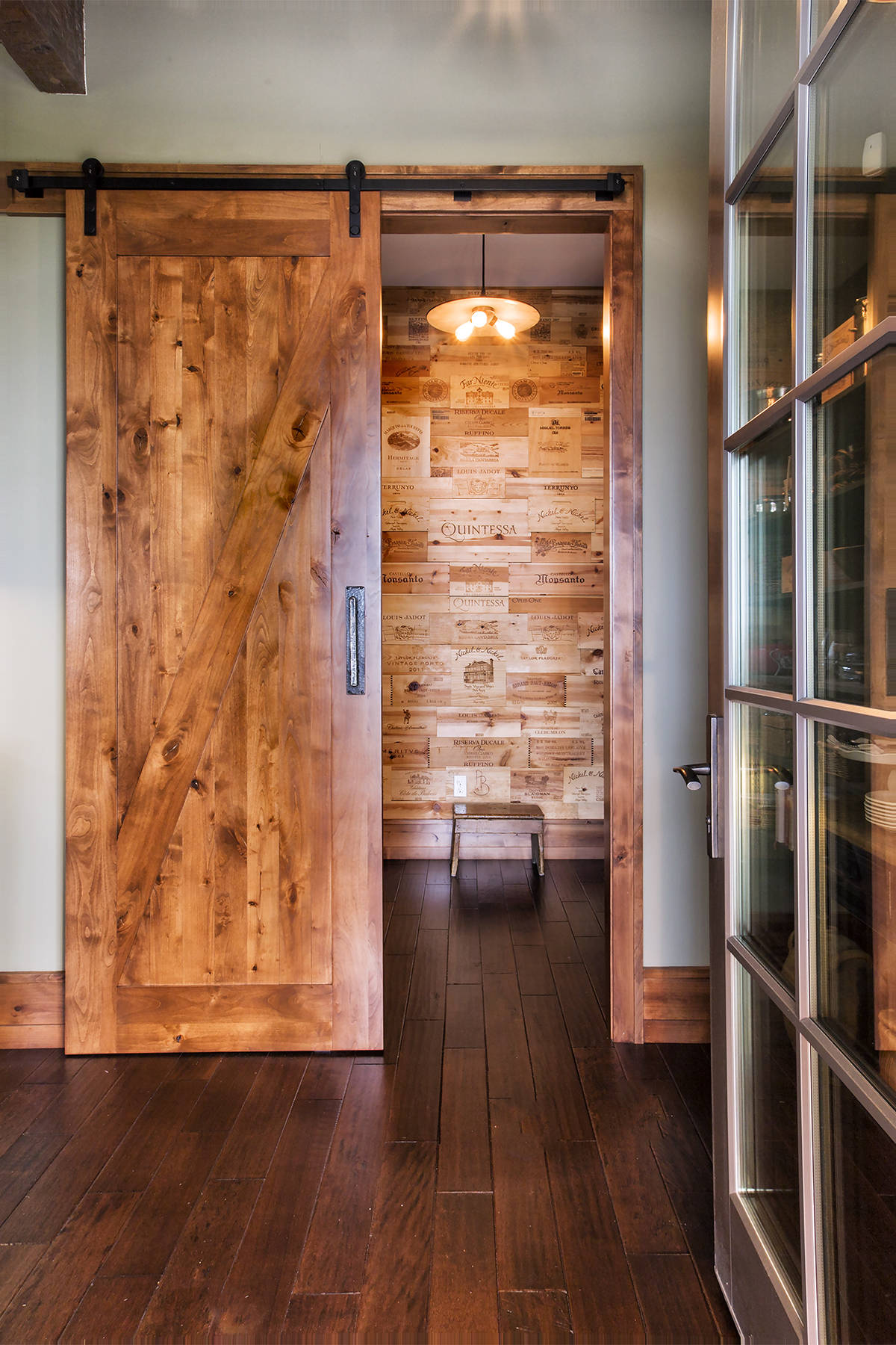 Wood wall treatments for log and timber frame homes