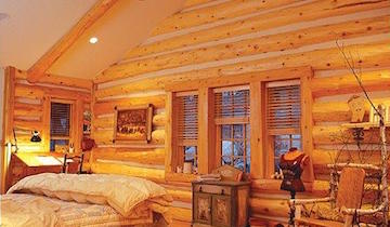 Cedar Log Siding For Cabins Amp Homes Wood Siding Company