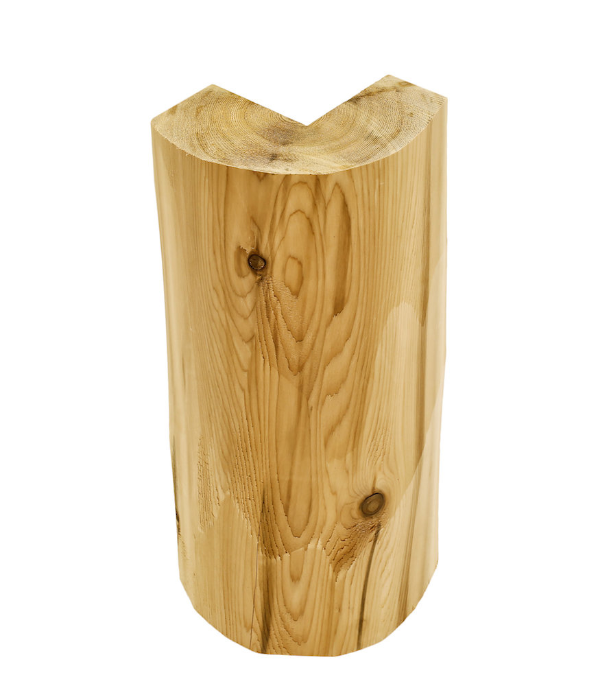 3x8 log siding hand hewn pine - Vertical Hand Hewn Log Cabin Corners