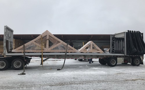 custom truss ready for shipment