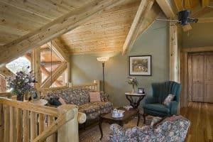 log paneling